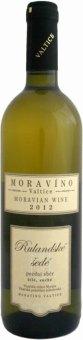 Víno Rulandské šedé Moravíno Valtice - pozdní sběr