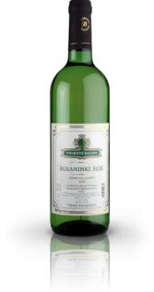 Víno Rulandské šedé Vínařství Baloun