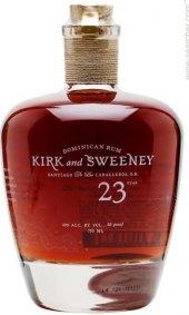 Rum 23 YO Kirk and Sweeney
