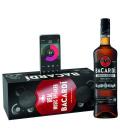 Rum Carta Negra Bacardi - dárkové balení