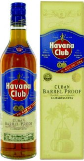 Rum kubánský Barrel Proof Havana Club