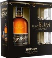 Rum Republica Exclusive Božkov - dárkové balení