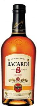 Rum Ron 8 Aňos Bacardi