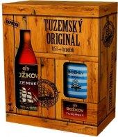 Rum Tuzemský Original Božkov - dárkové balení