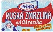 Ruská zmrzlina Prima
