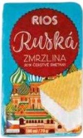 Ruská zmrzlina Rios