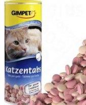 Doplněk stravy pro kočky Rybí tablety Gimpet