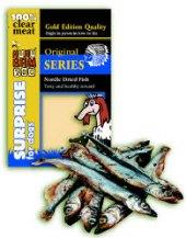 Pamlsky pro psy sušené rybičky Nordic Fish Huhubamboo
