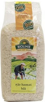 Rýže basmati Biolinie