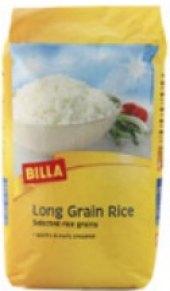 Rýže dlouhozrnná Billa