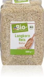 Rýže  dlouhozrnná dm Bio