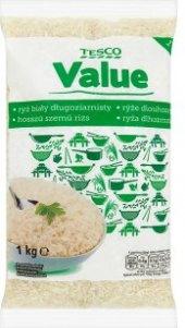 Rýže dlouhozrnná Tesco Value