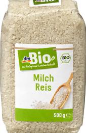Rýže mléčná dm Bio