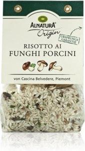 Rýže na rizoto s houbami Alnatura