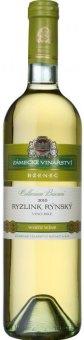 Víno Ryzlink rýnský Cellarium Bisencii Zámecké vinařství Bzenec
