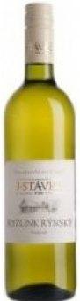 Víno Ryzlink rýnský Víno J. Stávek - pozdní sběr