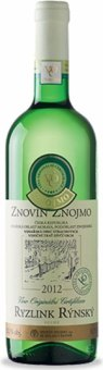 Víno Ryzlink rýnský VOC Znovín Znojmo