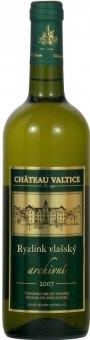 Víno Ryzlink vlašský Chateau Valtice - archivní