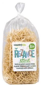 Rýžové bio těstoviny Country Life