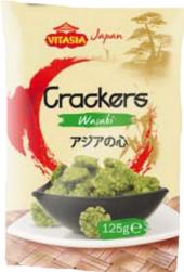 Krekry rýžové s wasabi Vitasia