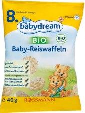 Oplatky rýžové Bio Babydream
