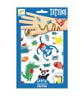 Sada dětského tetování Djeco