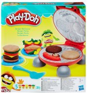 Sada Hamburger barbeque Play-Doh