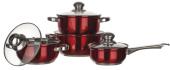 Sada nerez nádobí Banquet Maestro Red