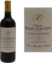 Víno červené Saint - Estèphe Châteu Franc Coutelin