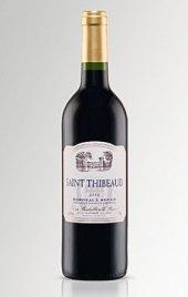 Víno červené Bordeaux Rouge Chateau Saint - Thibeaud