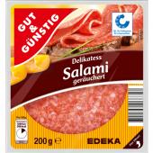 Salám Delikatess Gut&Günstig Edeka