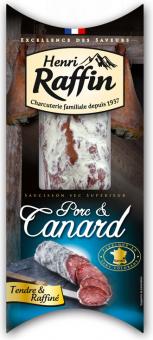 Salám Porc & Canard Henri Raffin