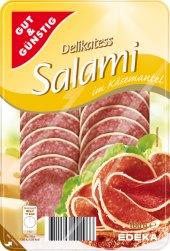 Salám v sýrovém obalu Gut&Günstig  Edeka