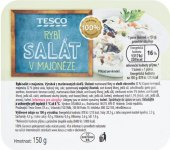 Salát rybí v majonéze Tesco