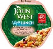 Salát s lososem LIght Lunch John West