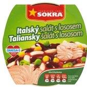 Salát s lososem Sokra