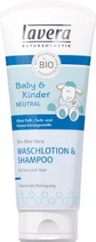 Šampon a mycí emulze Baby&Kinder Lavera