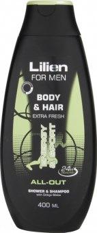 Šampon a sprchový gel 2v1 Lilien
