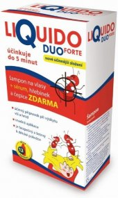 Šampon + sérum proti vším Forte Duo Liquido
