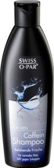 Šampon s kofeinem Swiss O-Par