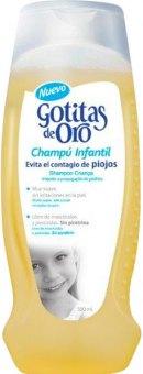 Šampon proti vším dětský Gotitas De Oro