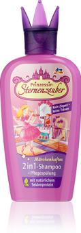 Šampon s kondicionérem dětský Prinzessin Sternenzauber