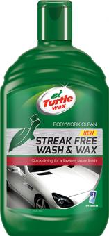 Šampón s voskem Turtle Wax