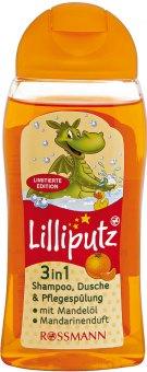 Šampon, sprchový gel a kondicionér 3v1 dětský Lilliputz