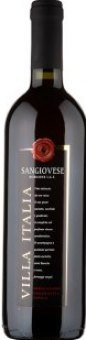 Víno Sangiovese Rubicone Villa Italia