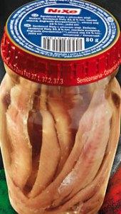 Sardelky v oleji Nixe