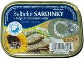 Sardinky baltické v oleji Big Fish
