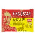 Sardinky baltické v oleji King Oscar
