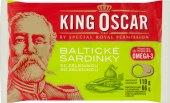 Sardinky baltické se zeleninou King Oscar