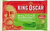 Sardinky baltické v omáčce King Oscar